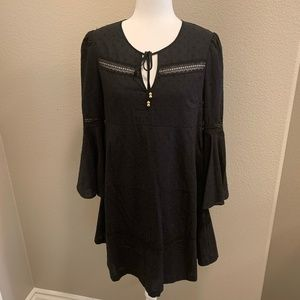 NWT! Juicy Couture Bell Sleeves Baby Doll Dress